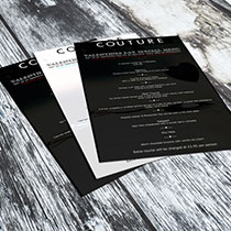 Couture valentines flyer
